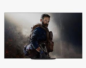 3D model television sony 4k