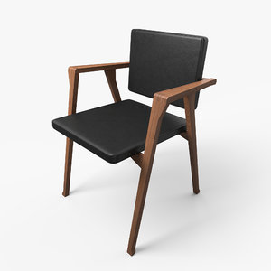 luisa chair 3D