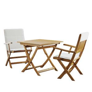 garden table 3D model