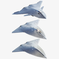 Future Concept Jet Fighter Boeing Pack