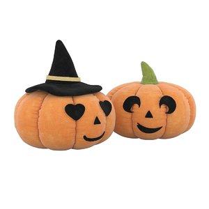 halloween pumpkin plush toy 3D model