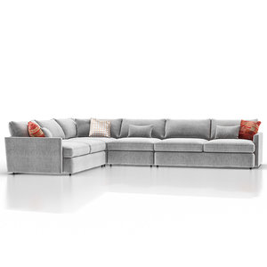 lounge ii petite outdoor 3D model