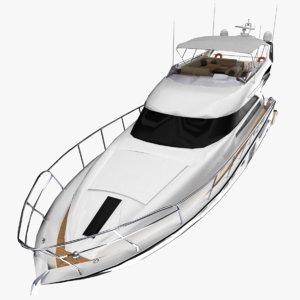 3D 64 yacht