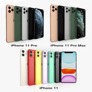 iphone 11 pro x 3D model