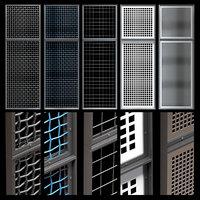 Decorative metal lattices - Quad