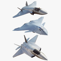 Future Concept Jet fighter Boeing Bae Systems 3 Pack