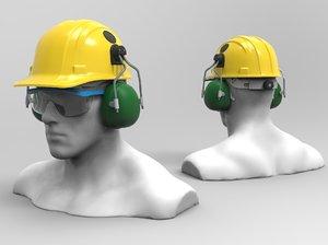 safety hat 3D model