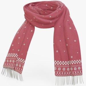 3D winter scarf