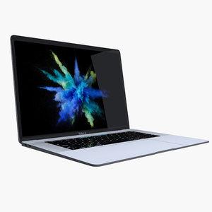 macbook pro a1707 3D model
