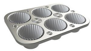 3D model cake pan