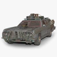 post car 3D model
