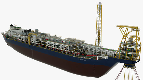 offshore support vessel mondo 3D model