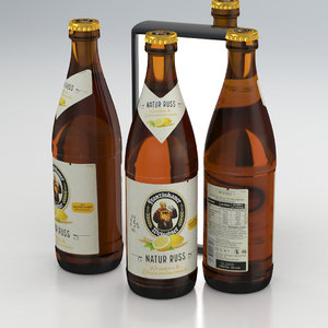 3D model bier weissbier