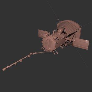3D nasa solar parker probe