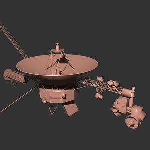 3D nasa voyager 1 model
