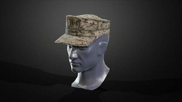 8pointcover hat 3D model