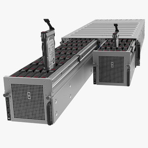 3D hpe cloudline cl5200 server