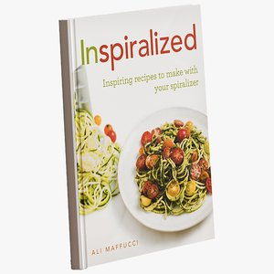 3D realistic inspiralized cookbook