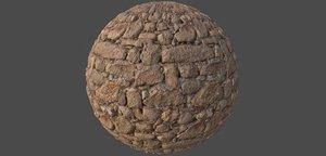 Rock Wall 001 PBR Texture