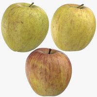 ambrosia apples 02 3D