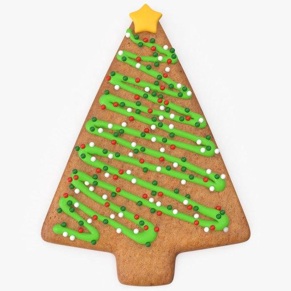 christmas gingerbread tree 3D model