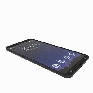 3D model cellular mobile phone