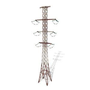 3D electricity pole