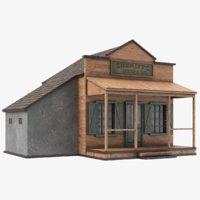 western sheriffs office 3D model