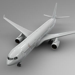 3D airbus a330-300 getjet airlines model