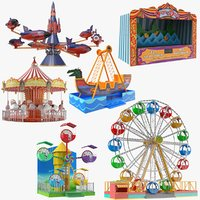 Six Amusement Park Games Collection