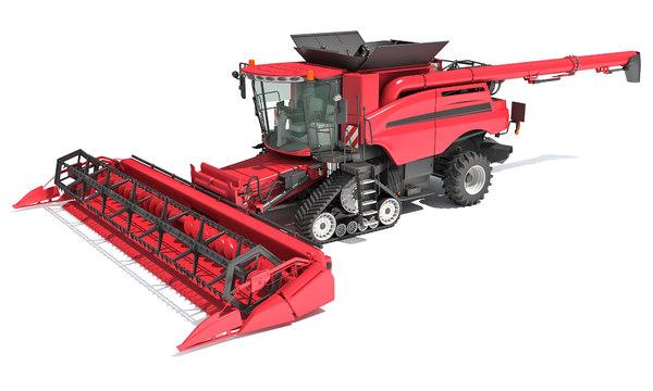 combine harvester model