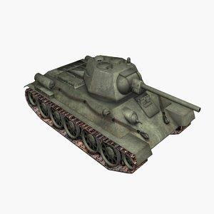 t-34-76 t-34 soviet medium model