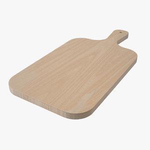 chopping board 3D