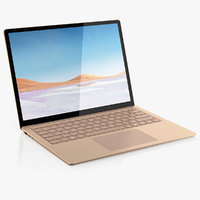 microsoft surface laptop 3 3D model