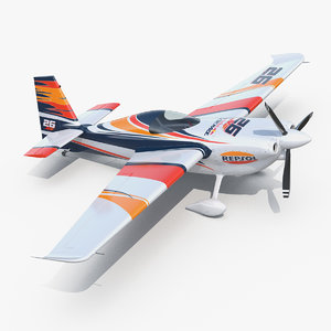 3D zivko edge 540 aerobatic