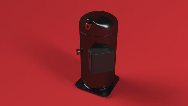 3D scroll compressor