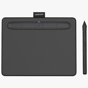 3D wacom intuos graphics tablet