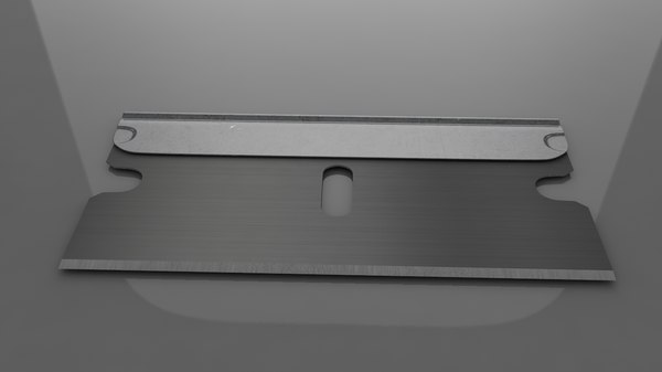 single edge razor blade model