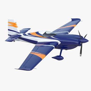 sport aerobatic aircraft generic 3D