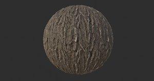 Tree Bark 002 PBR Texture