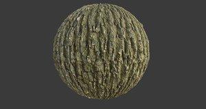 Tree Bark 005 PBR Texture