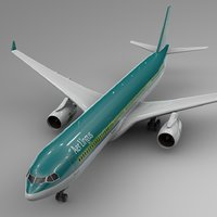 airbus a330-300 aer lingus 3D model
