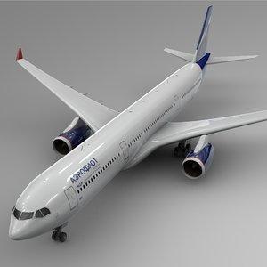 airbus a330-300 aeroflot l384 3D