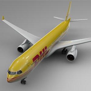 airbus a330-300 dhl l382 3D model