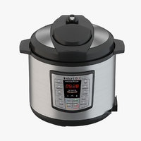 cooker pressure electric 3D