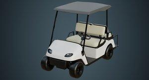3D golf cart