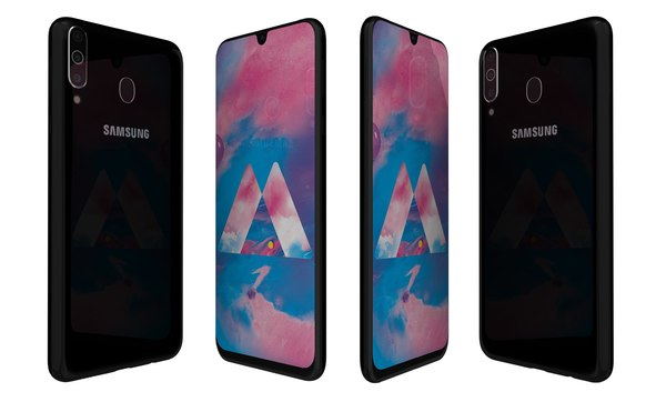 3D model samsung galaxy m30 stainless