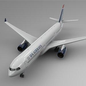 airbus a330-300 airways l380 3D model