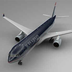 3D airbus a330-300 airways l385