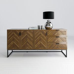 la nottingham drawer 3D model